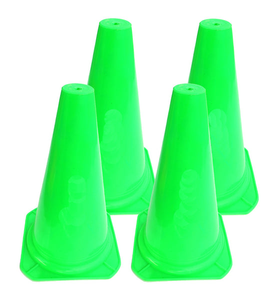 Classic Training Cones (Electric Green)