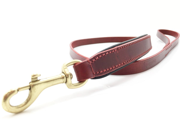 The Vintage Collection Leash (Claret Red) - DoggyHQ