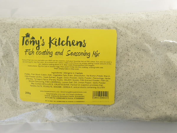 Online - Fish Coating and Seasoning Mix