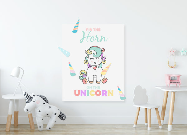 Game | Pin the Horn | Unicorn