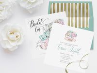 Invitation: Bridal Tea party