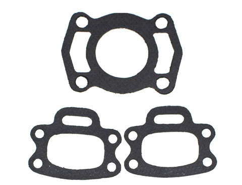 Aftermarket SeaDoo Exhaust Manifold Gasket Kit Includes 3 Gaskets OEM Part Numbers: 420950253 and 420850638