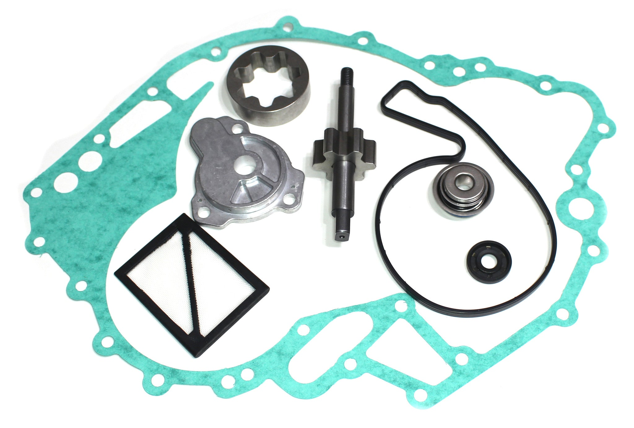 New Seadoo 4 Tec 02-14 Primary Rear Oil Pump Rebuild Kit RXP RXT
