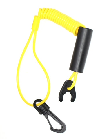 Jetski Floating Lanyard Kawasaki Polaris TigerShark Honda Wetjet Yellow Safety clip