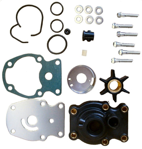 New Johnson Evinrude Water Pump Impeller Repair Kit 393630 Fits Most 20 25 30 35 HP 1980 and Up