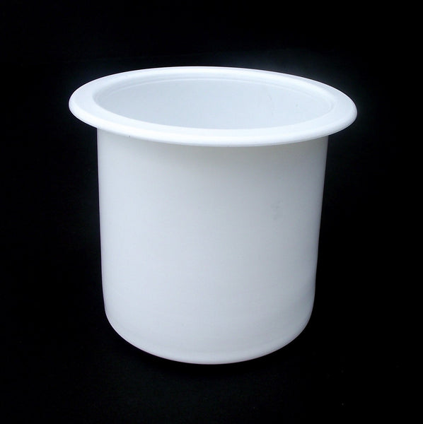 2 7/8 CUP HOLDER WHitE Cup RV Boat Furniture Sofa Cupholder Pool tables, Boats, RV's, Patios, Cars, decks, trailers or table
