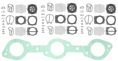 Kawasaki Carburetor Kit with Base Gasket 11060-3753 900 Zxi & Stx  Jetski Jet Ski