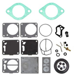 Seadoo Carburetor Rebuild Kit with Base Gasket 290850373 717 Gs GSI GTI GTS Single Base Gasket 15-001 Cross References 293250134 293250070 293250042 64X-14398-00-00