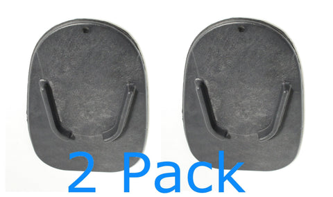 2 Pack  Kickstand Side Stand Plate Pad Base For Motorcycle motor Dirt Bike