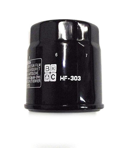 New Aftermarket 4-Stroke Oil Filter Fits Honda Kawasaki Polaris Yamaha KN-303 HF-303