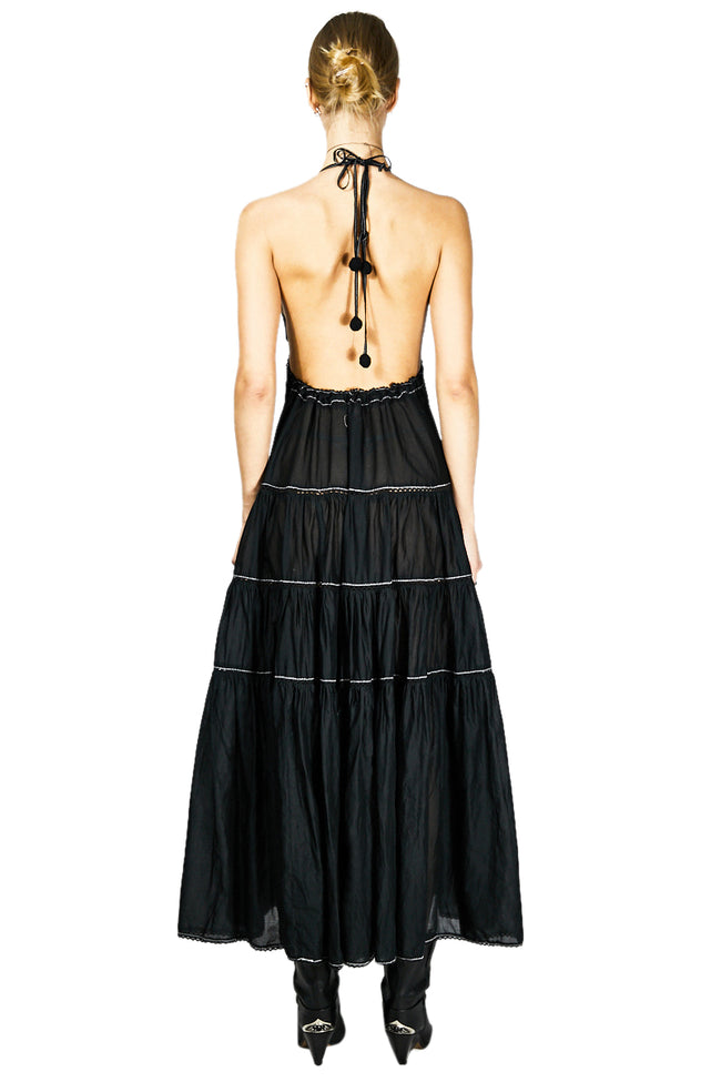 Elodie K Dua Dress Black