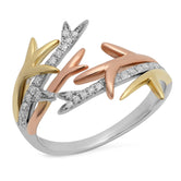 Thorn Ring 3 Gold