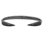 Claw Men Bracelet Black Diamond