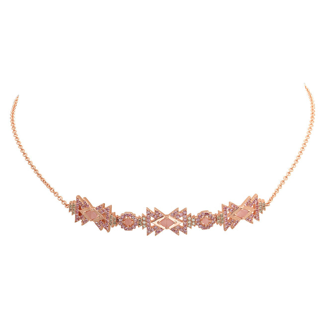 Everlasting Necklace Rose Gold
