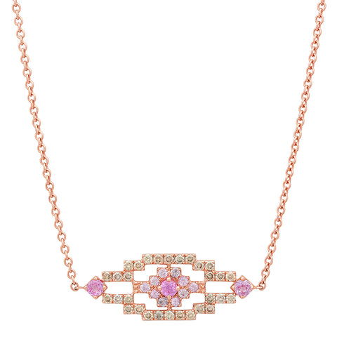 Wise Necklace Rose Gold