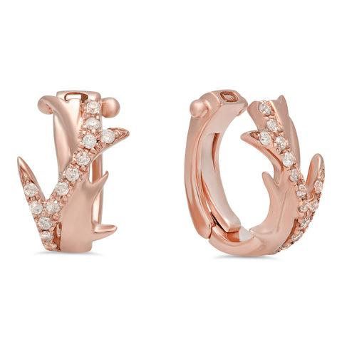 Elodie K Rose Gold Thorns Mini Ear Cuff