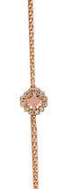Sun Body Chain Rose Gold Pink Opal