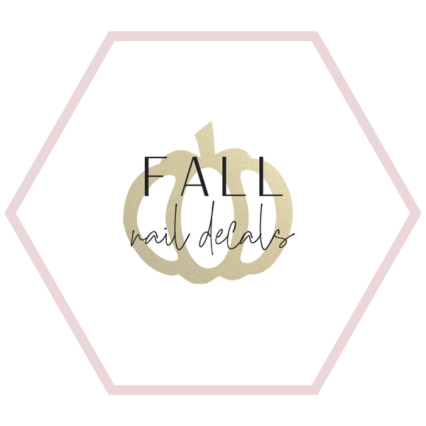 Nail Decals - Fall Collection