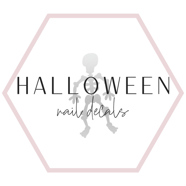 Nail Decals - Halloween Collection