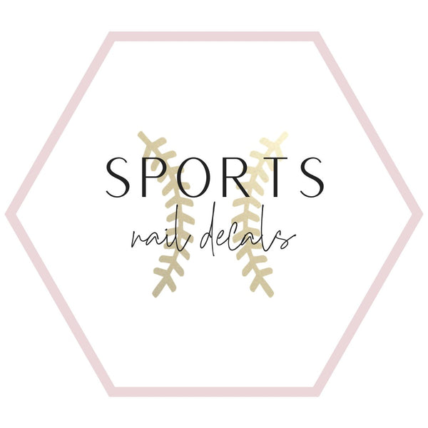 Nail Decals - Sports Collection