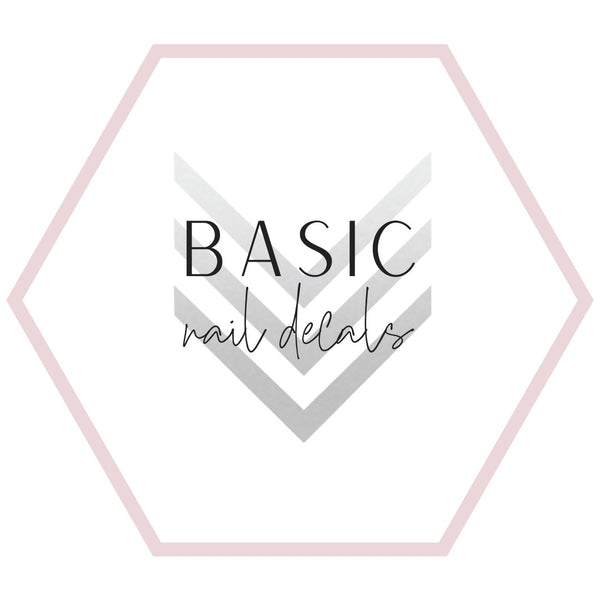 Nail Decals - Basics Collection