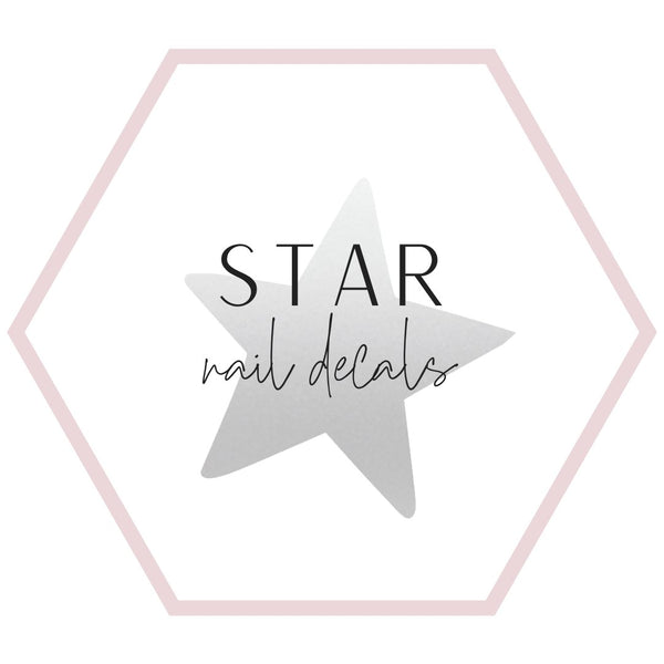 Nail Decals - Stars Collection