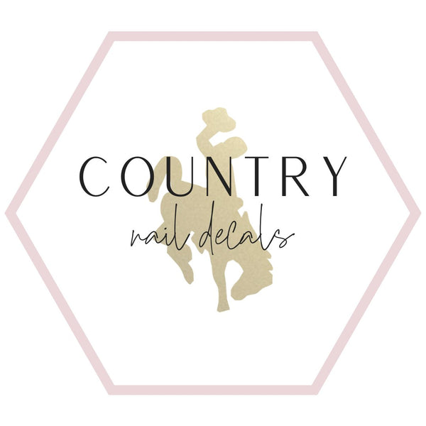 Nail Decals - Country Collection