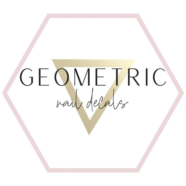 Nail Decals - Geometric Collection