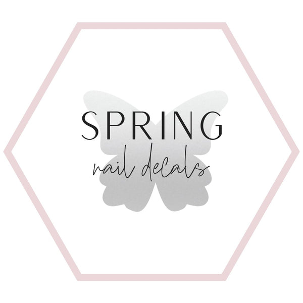 Nail Decals - Spring Collection
