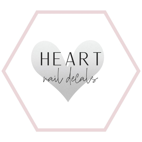 Nail Decals - Hearts Collection