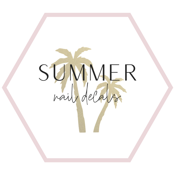 Nail Decals - Summer Collection