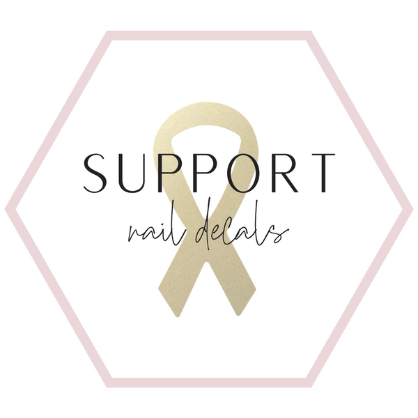Nail Decals - Support Collection