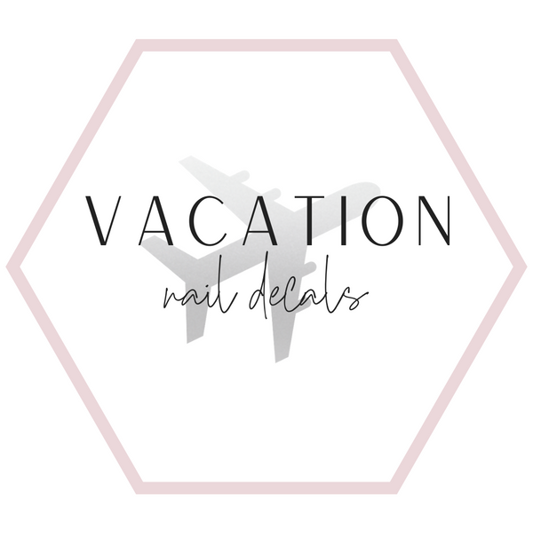 Nail Decals - Vacation Collection
