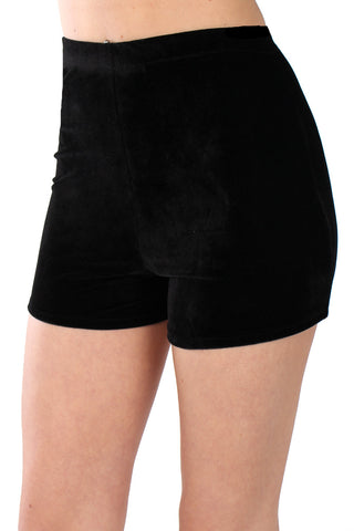 Basics Co-ords Velvet Turtleneck Top & Mini Skirt