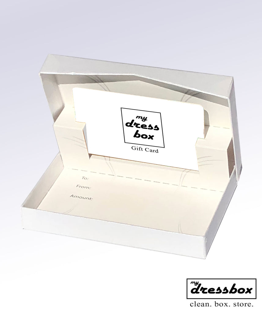 MyDressbox Gift Card - The perfect wedding gift