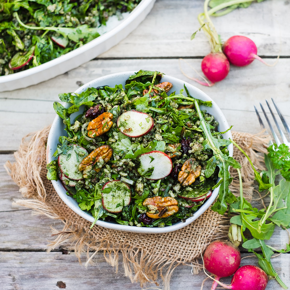 Chlorella Grain Salad