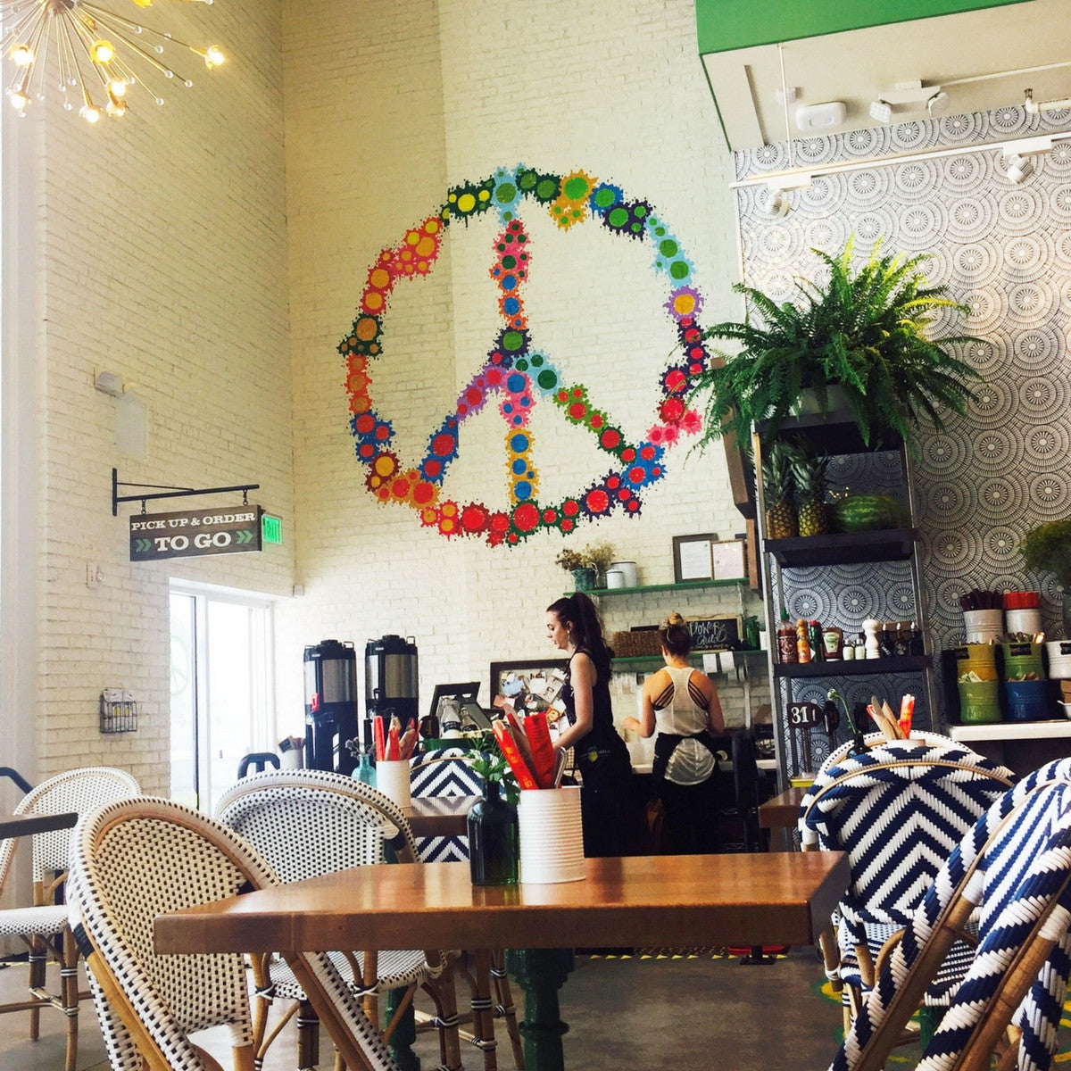 Bring Out Your Inner Flower Child – A New Healthy Eatery In Santa Monica