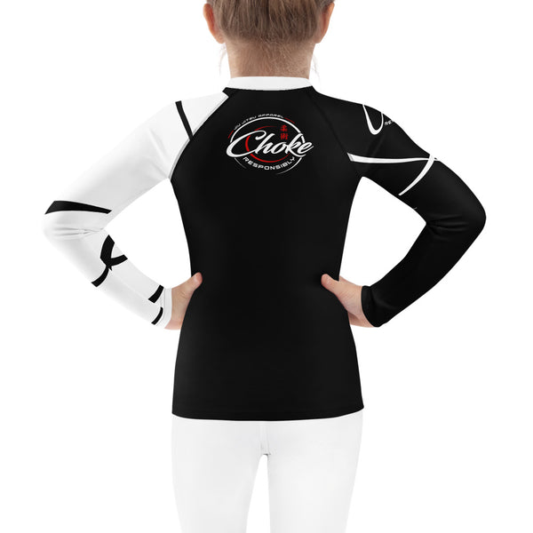 kids bjj rash guard