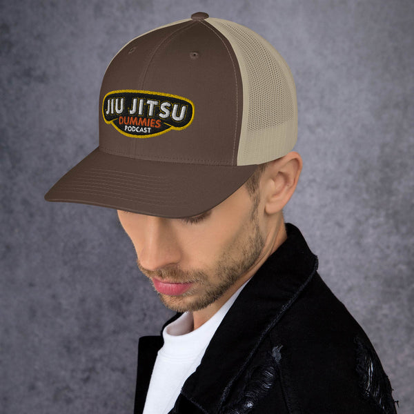 brown jiu-jitsu hat