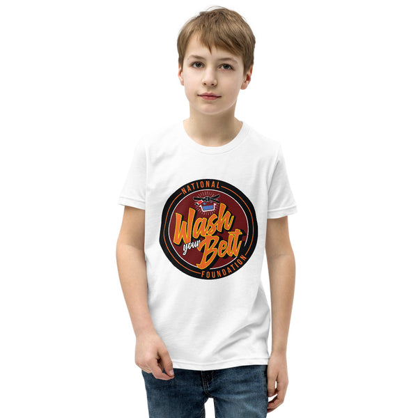 National Wash Your Belt Foundation Youth Short Sleeve T-Shirt