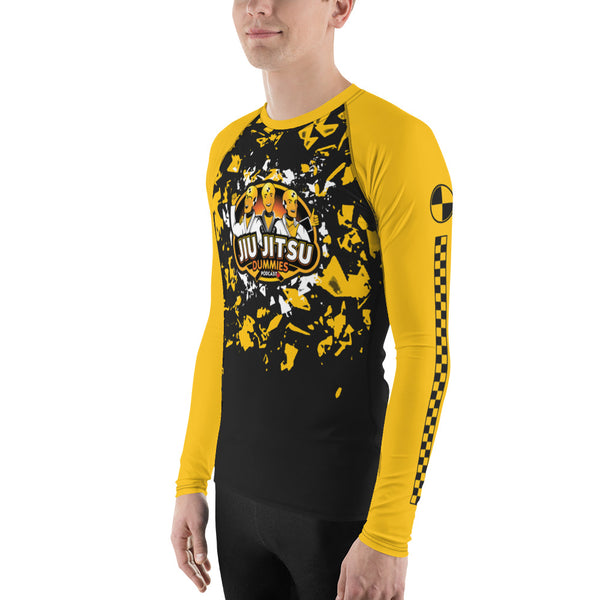 jiu jitsu dummies rash guard