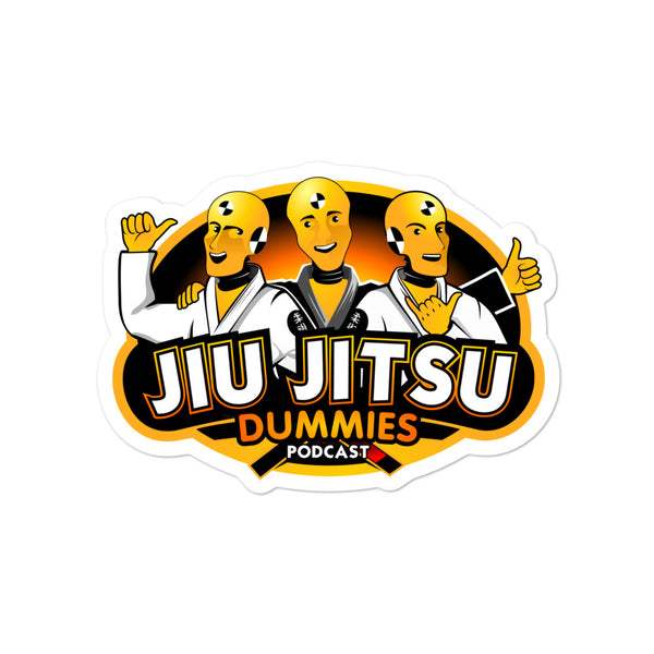 Jiu Jitsu Dummies Podcast Sticker