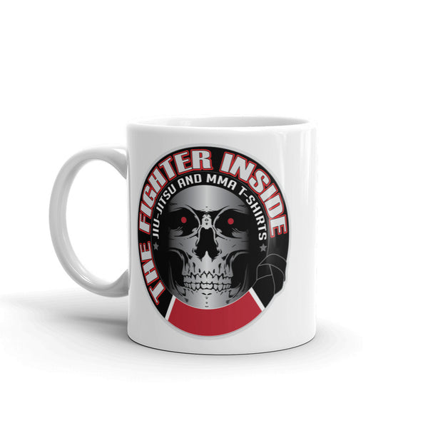 the fighter inside coffee mug