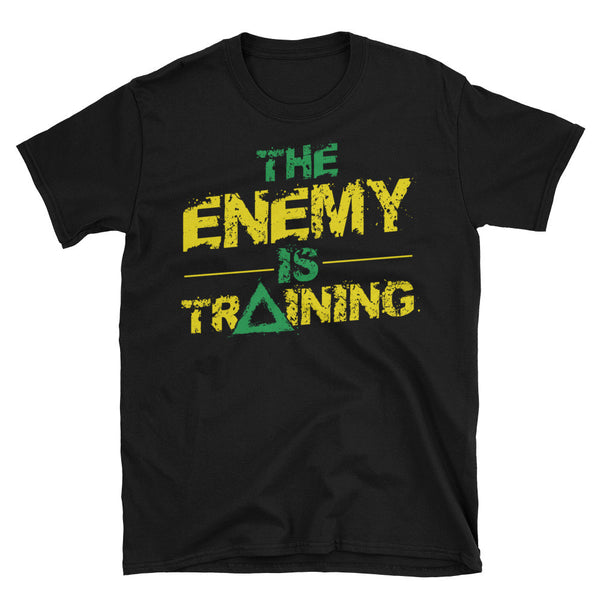 enemy is training tee