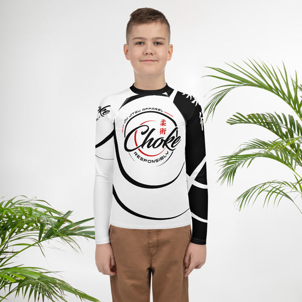 teen jiu jitsu rash guard