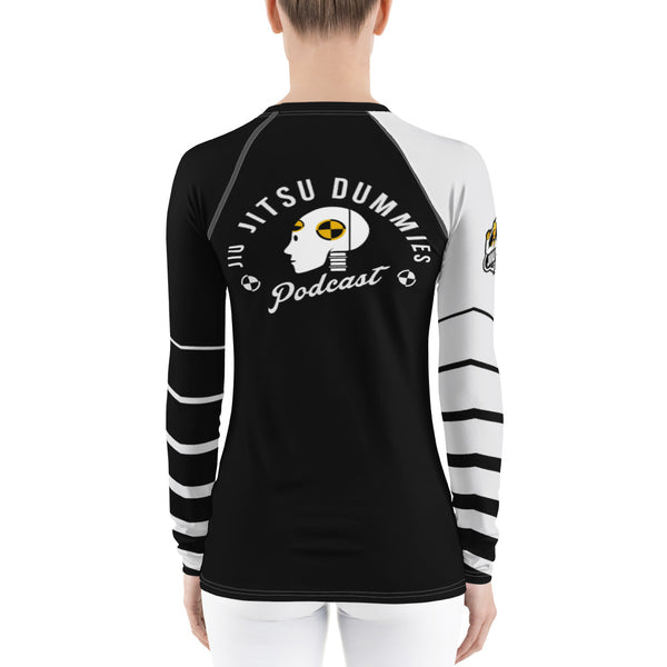 white belt rash guard