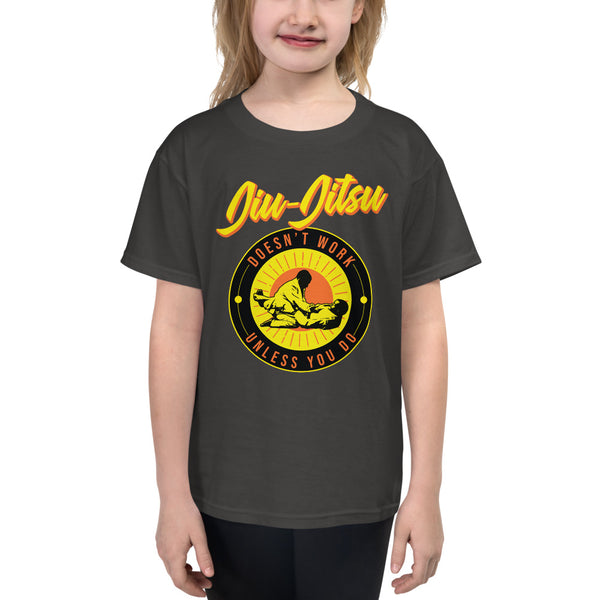 youth grappling tees