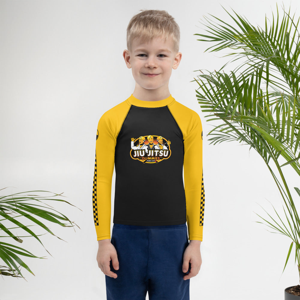 Kids jiu jitsu Rash Guard