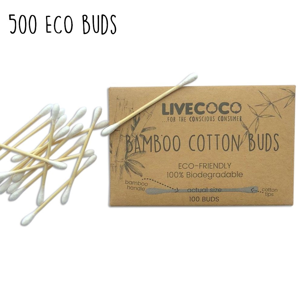 Bamboo Cotton Buds - 100 buds