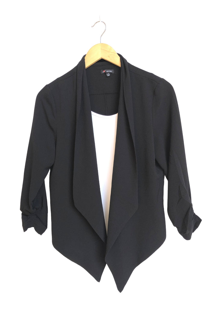 Everyday Short Blazer - Black